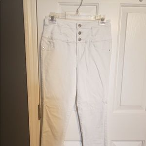 Charlotte Russe White jeans
